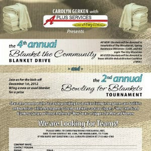 Bowling for Blankets @ Conroe | Texas | United States