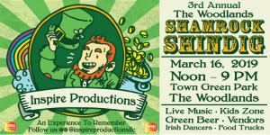 3rd Annual The Woodlands Shamrock Shindig @ Town Green Park | The Woodlands | Texas | United States