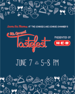 8th Annual Tastefest @ The Lone Star Convention Center | Conroe | Texas | United States