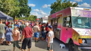Freight Train Food Truck Festival