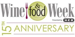 Volunteer for Wine & Food Week @ Various Locations in The Woodlands, Texas. Please see your printed ticket for more information.
