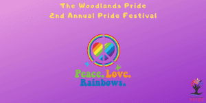 The Woodlands Pride 2nd Annual Pride Festival @ Town Green Park