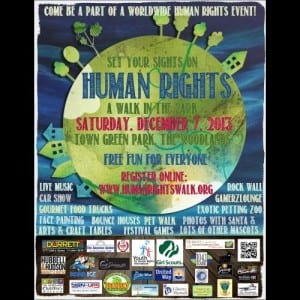 human rights walk